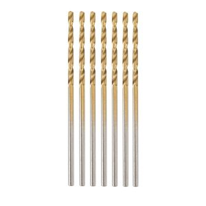 1/16 in. Titanium Nitride Coated High Speed Steel Drill Bit Set 7 Pc