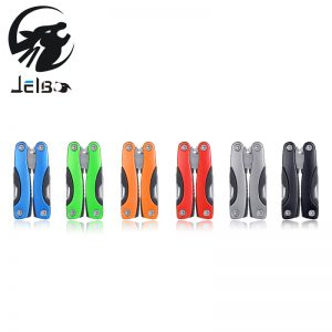 Jelbo Outdoor Multitool Pliers Serrated Knife Jaw Hand Tools+Screwdriver+Pliers+...