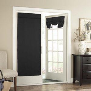 Eclipse 14898026068BLK Tricia Thermal Door Panel,Black,26×68
