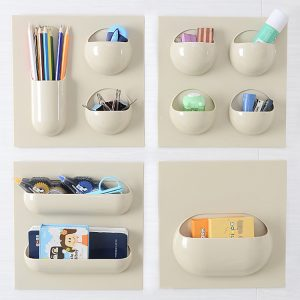 1 pcs New Seamless Paste Stitching Hanging Storage Shelf On Walls Bathroom Supplies/ Solid Color Bathroom Accessories Set