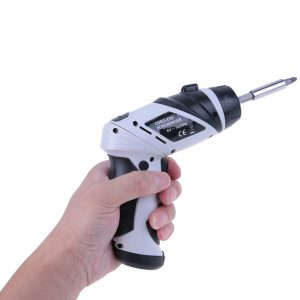 6V Electric Drill With Mini Lamp Household Cordless Electric Drill Precision hand electric Screwdriver gun Power Tool