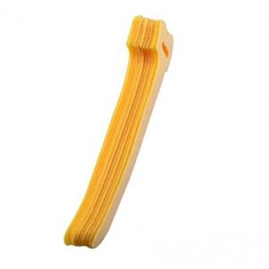5-in Hook and Loop Straps, 10-Pack Yellow, Speciality Cable Tie
