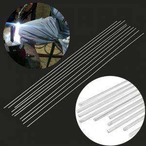 10pcs Rustless Aluminum Welding Rods Mayitr Low Temperature Repair Gas Argon Arc Welding Soldering Brazing Rod 1.4mm*500mm